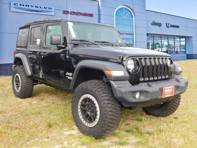 New 2019 Jeep Wrangler Unlimited Sport Sport Utility In