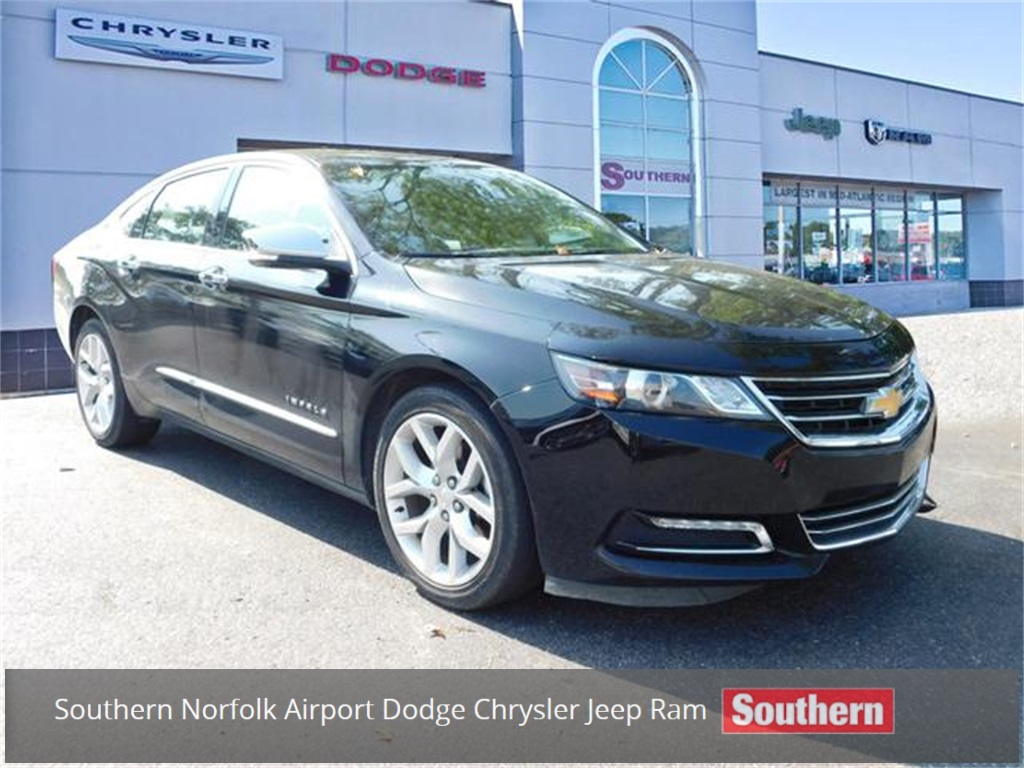 Pre Owned 2018 Chevrolet Impala Premier Fwd 4d Sedan